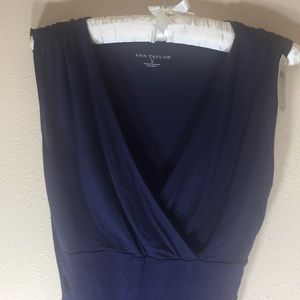 Ann Taylor sleeveless shirt NWT
